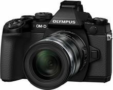 Olympus OM-D E-M1 + 12-50 kit 3D czarny