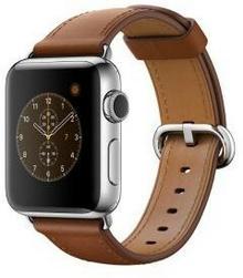 Apple Watch 2 38 mm Stal / Brązowy