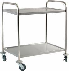 Stalgast Wózek kelnerski 2-półkowy 661020