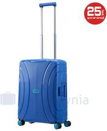 Samsonite AT by Mała kabinowa walizka AT LOCK'N'ROLL 68601 Niebieska - niebieski
