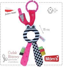 Hencz Toys Moms Care Cudak lusterko zabawka niemowlęca różowa