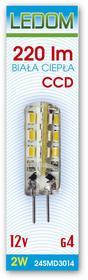 Import Żarówka LED G4 2W 12V