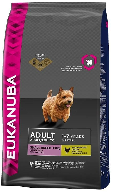 Eukanuba Adult Small Breed Maintenance Chicken 15 kg