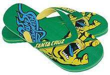Santa Cruz SCREAMING SPEED WHEELS FLOP zielony
