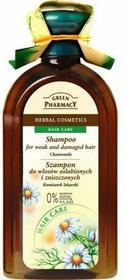Green Pharmacy Szampon Rumianek lekarski - do włosów osłabionych i zniszczonyc