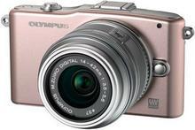 Olympus Pen E-PM1 + 14-42 kit 3D różowy