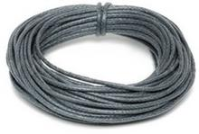 Griffin Griffin WAXED COTTON CORD Bawełniany sznurek woskowany 2mm 5m - Dark Grey