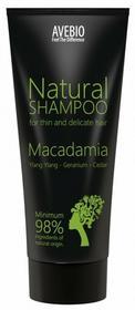 Avebio  Shampoo Macadamia Naturalny szampon do włosów cienkich i delikatnych 200ml
