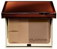 Clarins Bronzer brązujący Duo SPF 15 02 medium female 10g