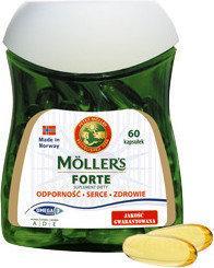 Axellus Mollers Tran Norweski Forte 60 szt.