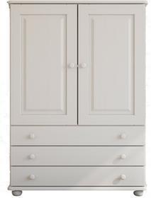 Meble Zych Bieliźniarka sosnowa Margit 2d biała 685756