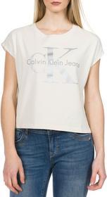 Calvin Klein Taka-1 T-shirt Beżowy XS