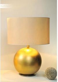 Hollander Holländer ALPHA GRANDE lampa stołowa Biały, Złoty, 1-punktowy