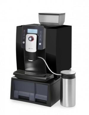 Hendi Ekspres automatyczny do kawy Profi Line - czarny 208892