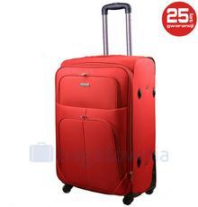 Kemer Mała kabinowa walizka PAROS Czerwona - czerwony