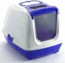 Yarro Toaleta FLIP nr 2 z filtrem i łopatką, kolor classic, 45x58x42cm - bordowy
