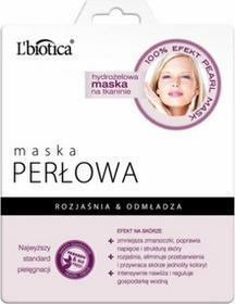 Lbiotica Maska perłowa hydrożelowa na tkaninie 25g