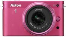 Nikon 1 J2 + 11-27.5 kit różowy