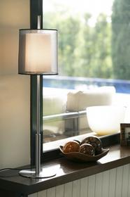 Faro Barcelona Saba Lampa stołowa Nikiel matowy, 1-punktowy 68546