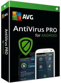 AVG AntiVirus PRO dla systemu Android 1 stanowisko 12 miesięcy) wersja elektroniczna