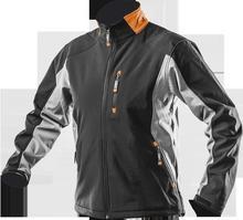 NEO-TOOLS kurtka robocza wodoodporna, wiatroochronna, softshell rozmiar L 81-550-L