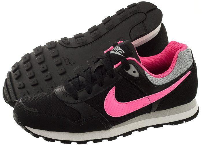 buty adidas damskie czarno różowe