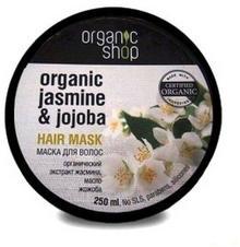 Organic Shop Organiczna Maska Do Włosów Jaśmin i Jojoba 250ml