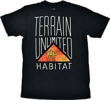 Habitat koszulka - Camel Corps Black (CERNA)