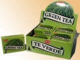 Kadzidełka Kadzidełko stożkowe - Green Tea (zielona herbata)