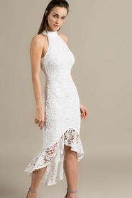 Missguided Sukienka WSDE911130 biały