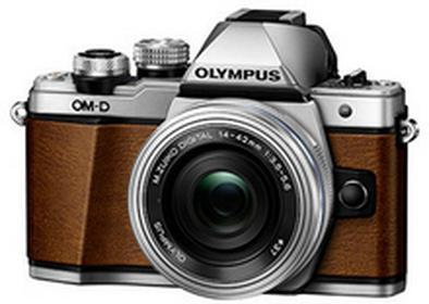 OlympusOM-D E-M10 Mark II + 14-42mm brązowy