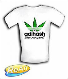 T-Shirt T-SHIRT ADIHASH BAWEŁNA 100%