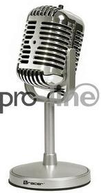 Tracer Mikrofon dookólny Classic srebrny TRAMIC45434