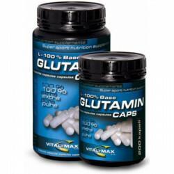 Vitalmax L-glutamina 200 kaps./500 mg