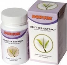 Dorsim VIRIDI TEA EXTRACT - Ekstrakt z zielonej herbaty 60 szt.
