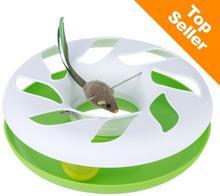 Zooplus Round About, karuzela dla kota - Biało/zielony