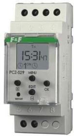 F&F Pabianice Zegar sterujcy programowalny PCZ-529