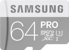 Samsung 64GB microSDXC Pro 90MB/s +adapter SD