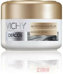 Vichy Dercos Odżywczo-regenerująca bogata Maseczka suche i zniszczonych włosy 200ml
