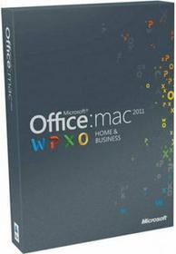 Microsoft Office 2011 Home and Business - dla użytkowników domowych i małych firm Mac