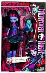 Mattel MONSTER HIGH - JANE BOOLITTLE - BLW01