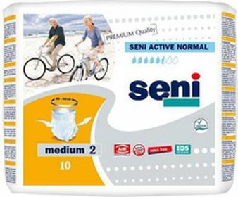 SeniMajtki chłonne Active Normal (2) Medium 10szt.