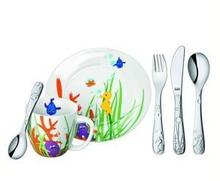 Silit Sztućce i naczynia dla dzieci Aquarama 6 el. 21.4528.6219
