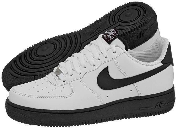nike air force 1 low biało czarne