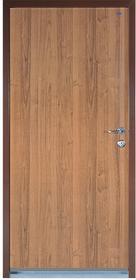Witex Drzwi wejściowe stalowe  Super-Lock WSL-1000PP 80 lewe orzech