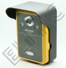 System bezprzewodowy - wideo domofon z funkcją dzwonka ELMIC KIVOS KDB300 - 2 mo