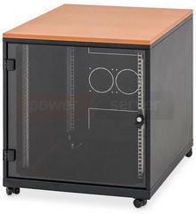 Triton Szafa Triton 12U 600x800 z blatem, na kółkach - idealna do biura BXAT15-0031-06