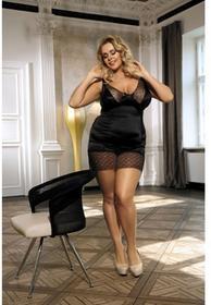 Anais Apparel Luxury (PL) Enfia koszulka czarna L+ 6_2543