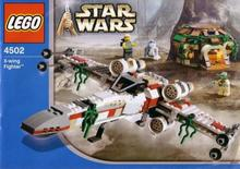 LEGO Star Wars X-wing Fighter 4502