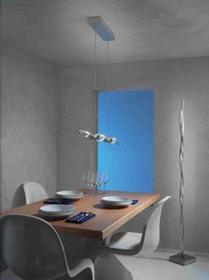 Escale Escale SILK lampa stojąca LED Aluminium, 1-punktowy 40140009-DO1